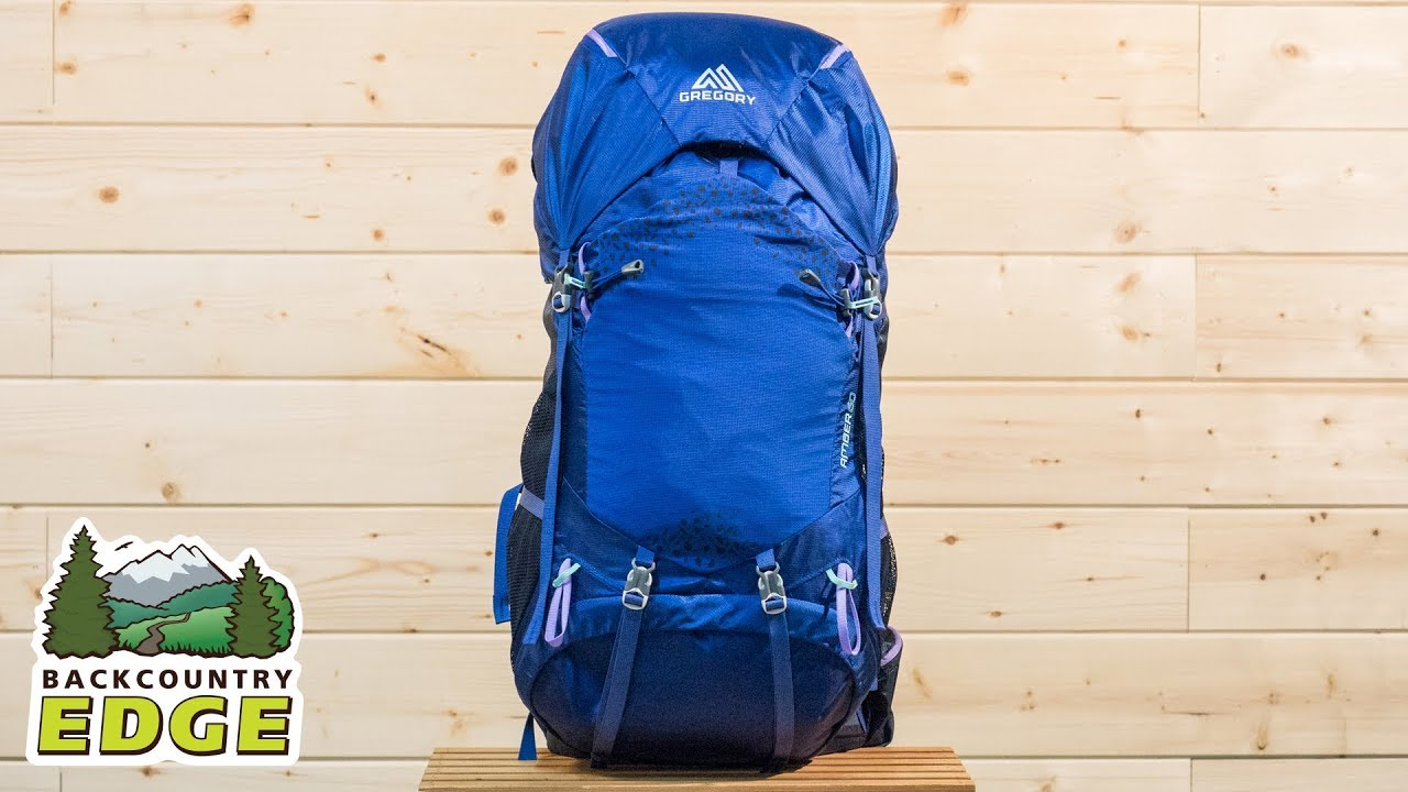 4d6a1bb76fa8a Gregory Amber 60 Women s Internal Frame Backpack - YouTube