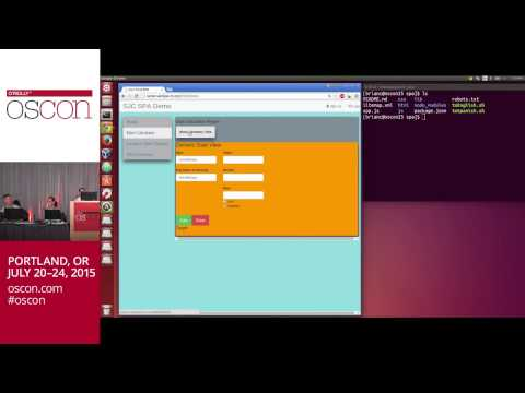 OSCON 2015 - Programming Single Page Applications