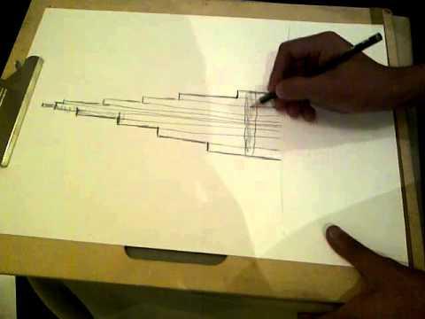 رسم برج خليفه Youtube
