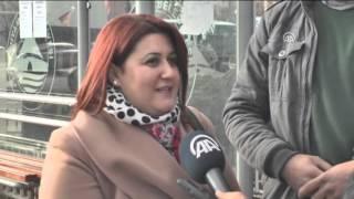 Anadolu Ajansı - Müzikli otobüs durağı