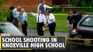 One Dead And Police Officer Injured At Knoxville High School | US Shooting | Tennessee |English News
