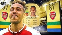 FIFA 19 AUBAMEYANG REVIEW   87 AUBAMEYANG PLAYER REVIEW   FIFA 19 ULTIMATE TEAM