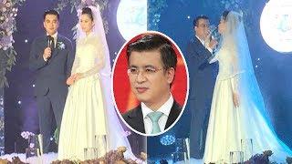 Trực tiếp đám cưới của BTV Quang Minh và vợ trẻ kém 10 tuổi - TIN TỨC 24H TV