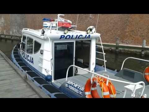 Policja Wodna W Gdańsku.