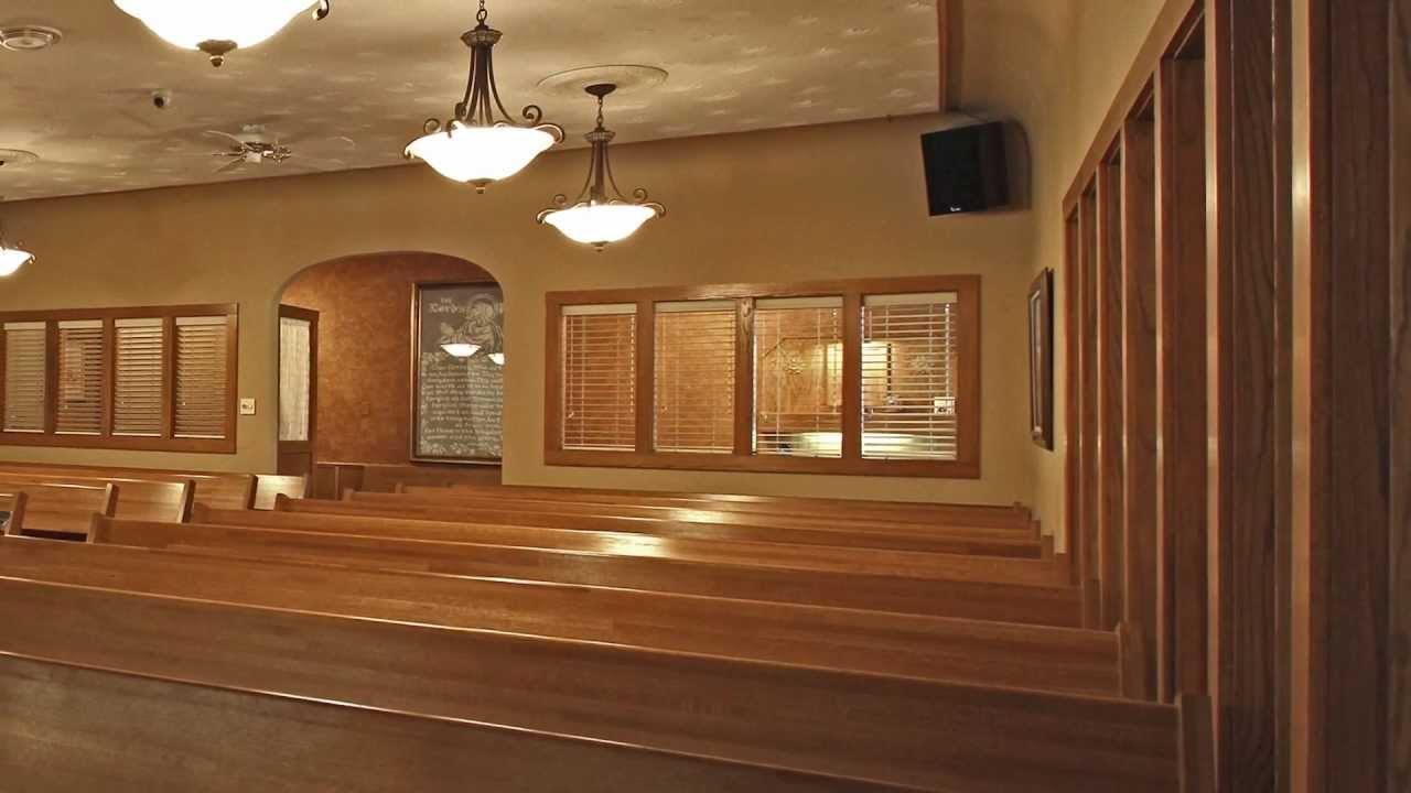 Anderson Stevenson Wilke Funeral virtual tour of stevenson & sons funeral home