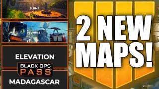 HUGE LEAK! 2 New Black Ops 4 Maps: Madagascar & Elevation Coming (Black Ops Pass DLC1)
