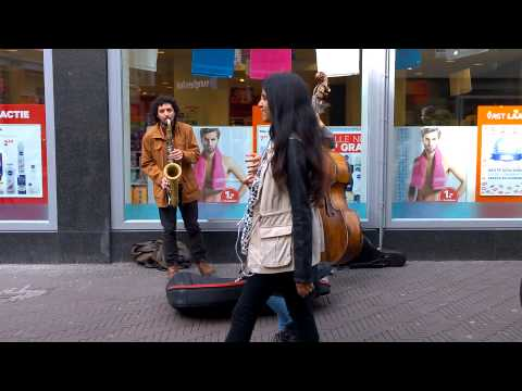 Street Jazz musicians in Den Haag