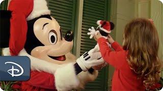 #disneykids: Santa Mickey At Magic Kingdom Park   Walt Disney World
