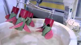 Как делают гребные винты для лодочных моторов