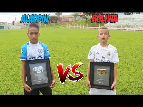 ALADDIN vs BOLIVIA PLACA DO SEGUE O JOGO X PLACA DO MS2
