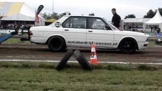 Carpulling Made 2010 Maarten van Steensel 1ste manche autotrek