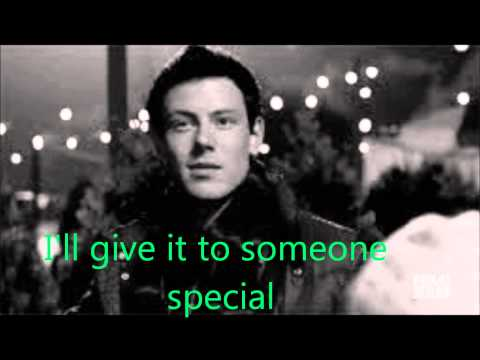 GLEE - Last Christmas with lyrics