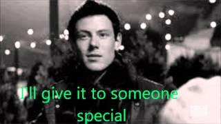 GLEE Last Christmas With Lyrics