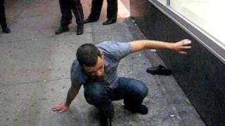 Drunk Guy Outside Club AHAHAH Thumbnail