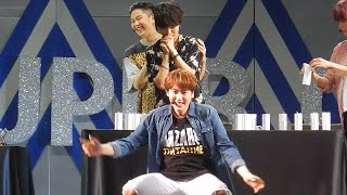 [HD Fancam] Super Camp Monterrey - Kyuhyun Vs. Yesung Opening Cans Game