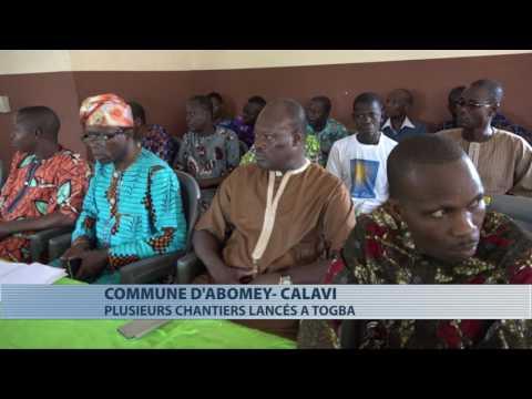Abomey-Calavi : lancement de travaux de construction et d'aménagement à Togba
