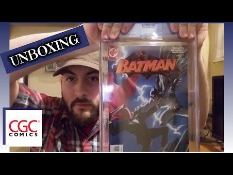 CGC Comics Unboxing! Modern Key Books and Variants!