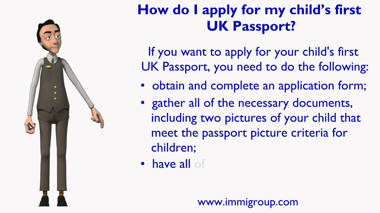 how do i apply for my child s first uk passport how do i apply for my child s first uk passport