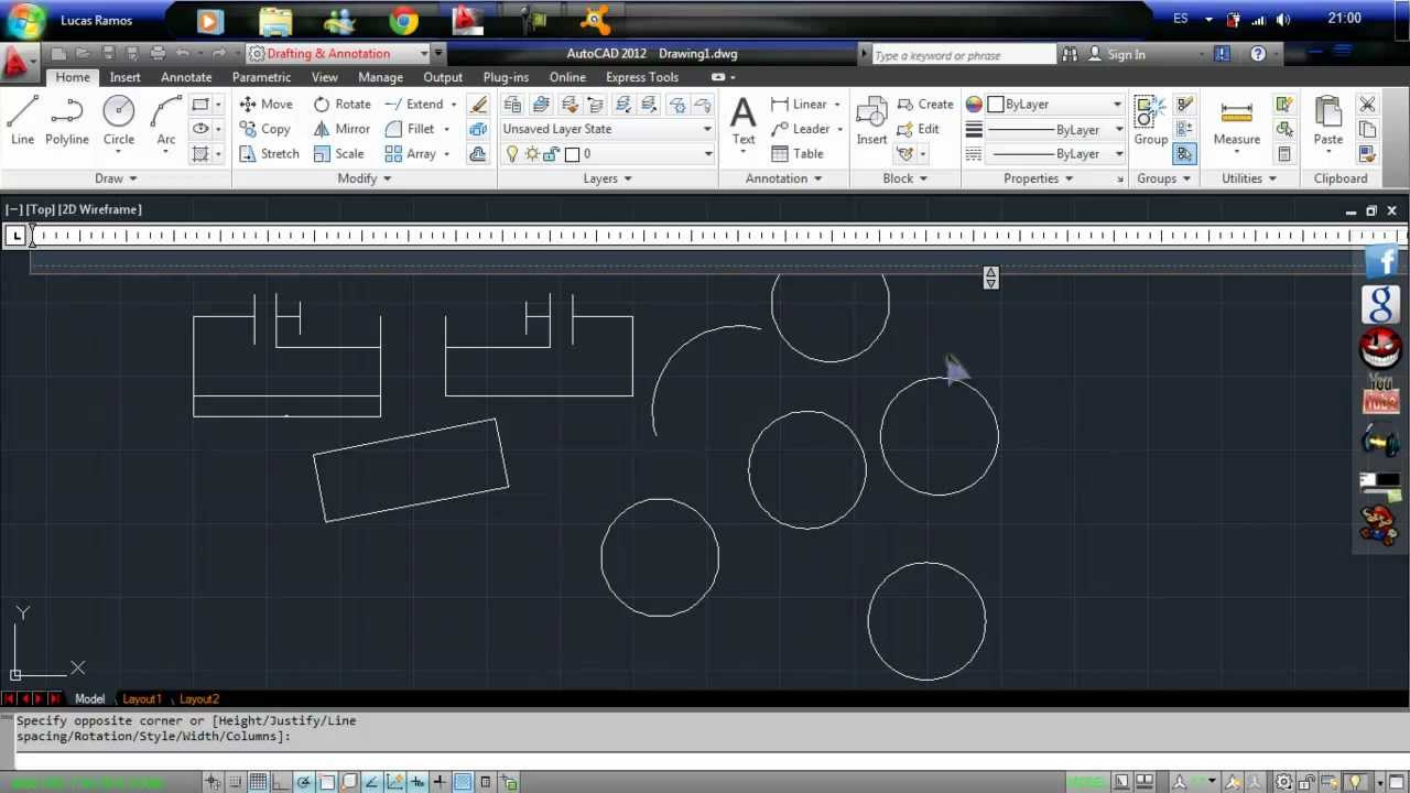 autocad 2012 tutorial Cadtutor provides free tutorials, articles and a busy community forum for users of autocad and associated software.