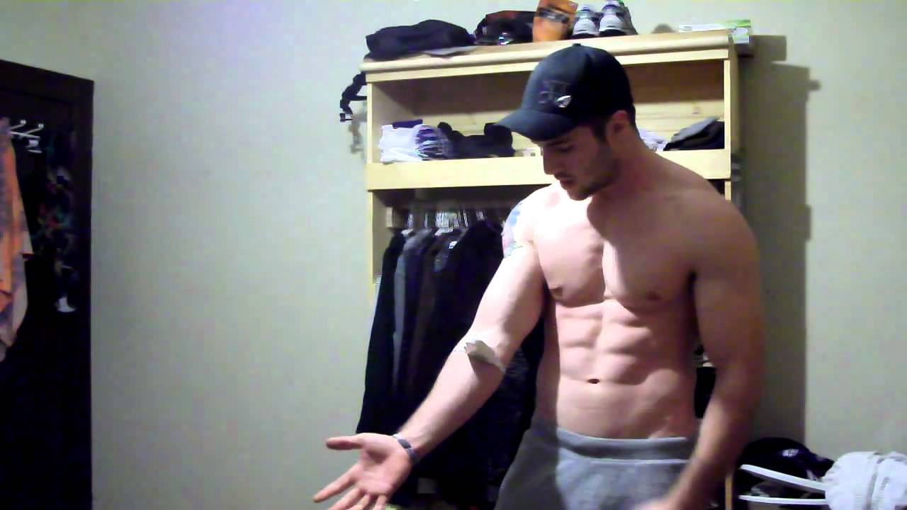 How To Measure Your Biceps And Forearms Youtube