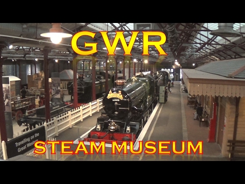 GWR Steam Museum Day Out - Swindon, Wiltshire (Great Western Railway)