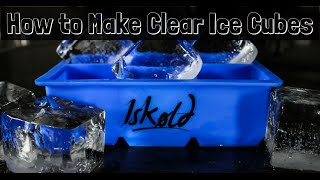 How to Make Clear Ice Cubes the Easy Way
