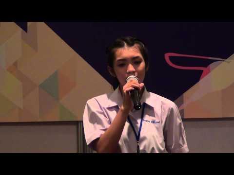 รางวัลเหรียญทอง รองชนะเลิศ อันดับ 1 การแข่งขันร้องเพลงไทยสากล ระดับมัธยมศึกษาตอนปลาย