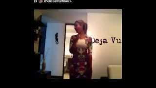 Mi Amor platonico bailando Melissa Martinez