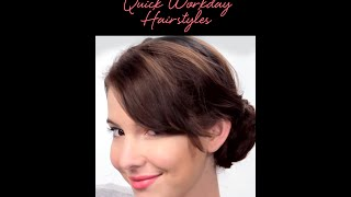 The Busy Girl's Guide: Quick Workday Hairstyles Thumbnail