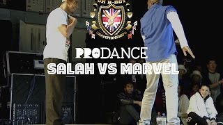 SALAH vs MARVEL | UK B-Boy Championships 2014 - Popping Quarter Final