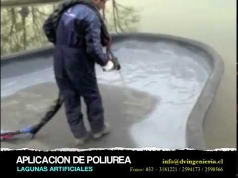 Lagunas artificiales realizadas por dv ingenieria youtube for Lagunas artificiales construccion