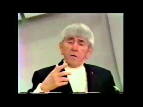 Moe Howard (Three Stooges) on Children and Violence