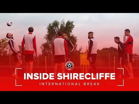 Inside Shirecliffe | First Team Training over the International Break