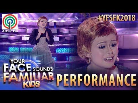 Your Face Sounds Familiar Kids 2018: Esang De Torres as Julie Andrews  Sound of Music