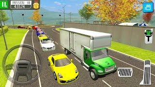 Delivery Truck Driver Sim - Products Delivery From The Warehouse - Android Gameplay