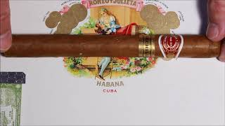Romeo y Julieta Churchill Tubos Cuban Cigar Unboxing DIC 2011