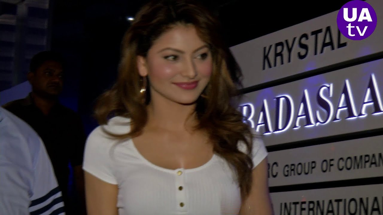 Urvashi Rautela gorgeous look at launch Sanitizer and Face Mask after lockdown