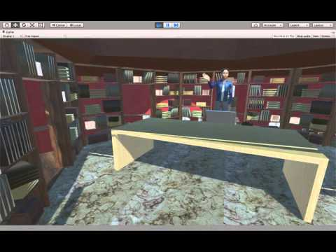 VR trial Project for VERG at University of Florida by Akshat Sharma