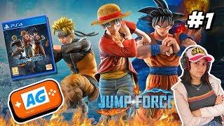 SOY UN PERSONAJE DE MANGA en JUMP FORCE PS4 Pro Gameplay en Español