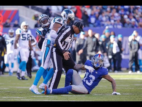Thumbnail: Odell Beckham Jr. vs Josh Norman 2015 FIGHT