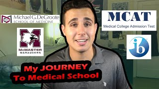 How I got ACCEPTED To Medical School | My Journey | Darius Med