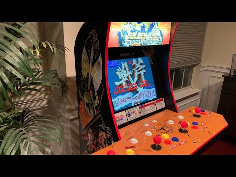 GOLDEN AXE: THE REVENGE OF DEATH ADDER - A CLOSER LOOK AT THIS EPIC ARCADE GAME Arcade1up from The 3rd Floor Arcade with Jason