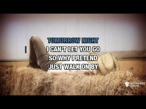 Walk On By in the style of Leroy Van Dyke | Karaoke with Lyrics