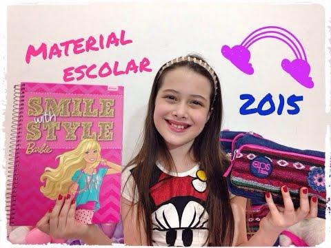 Material Escolar 2015 - volta às aulas Julia Silva
