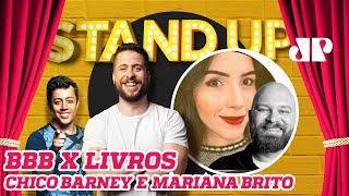 BBB vs LIVROS Stand Up Jovem Pan 02 12 19