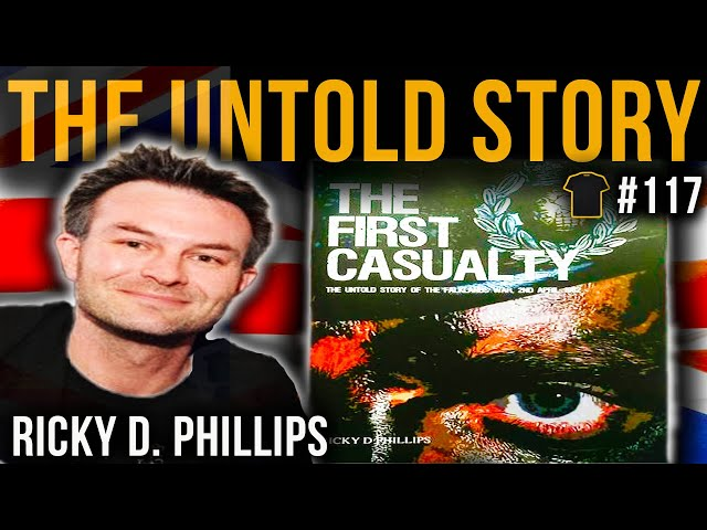 Royal Marines In Combat | Ricky D Phillips | The First Casualty | 8901 Naval Party | Falklands War
