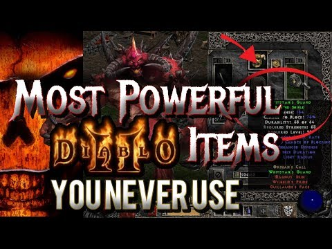 Most Powerful Diablo 2 Items You Never Use