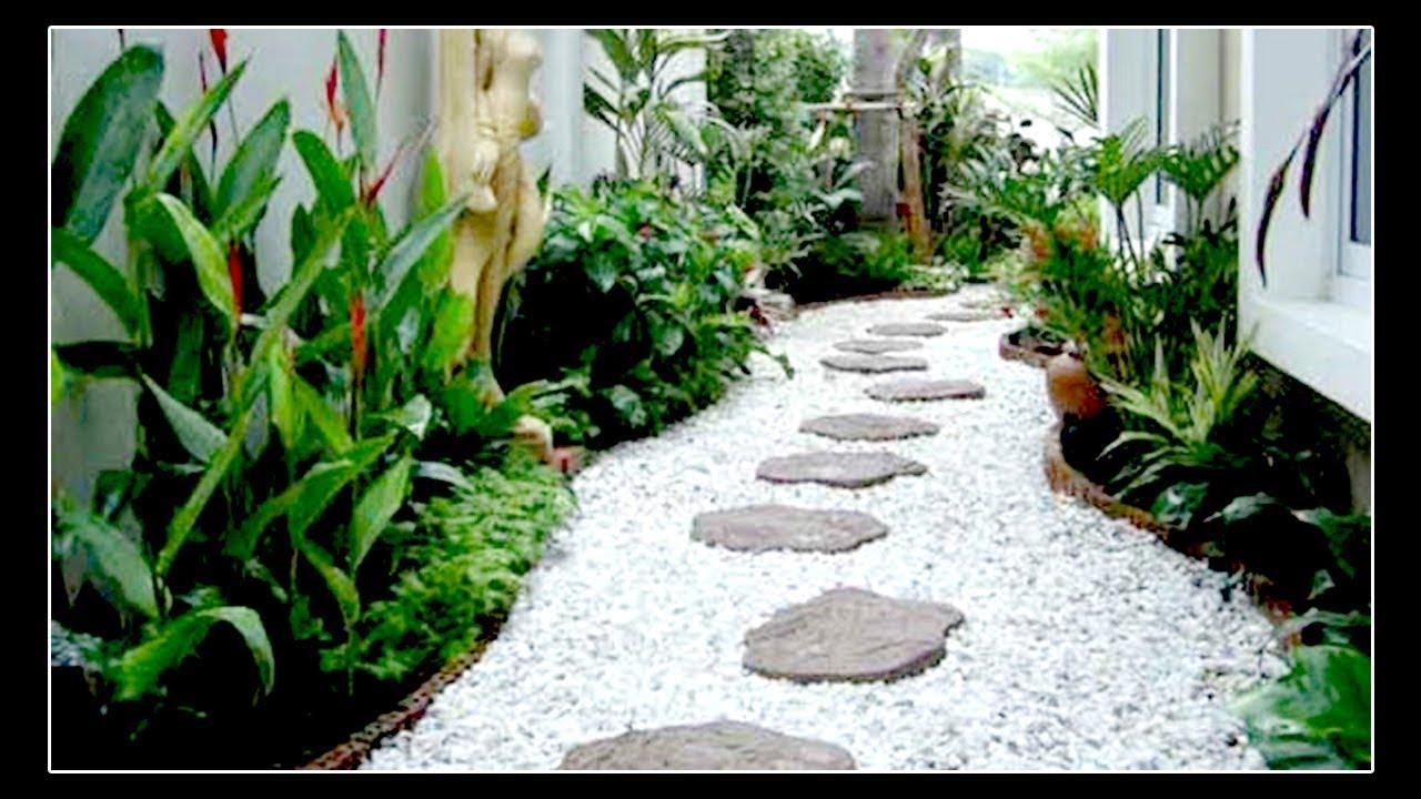33 Ide Menawan Jalan Setapak Batu Alam Taman Rumah Minimalis Youtube