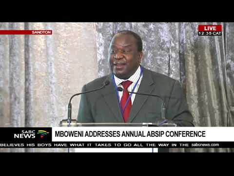 Mboweni addresses annual ABSIP conference Part 1