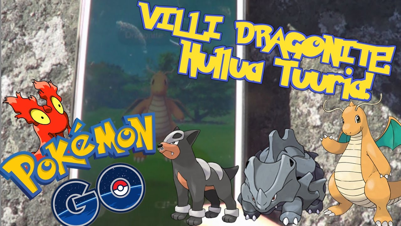 Pokemon GO Suomi - VILLI DRAGONITE!! Paljon Munia! - YouTube